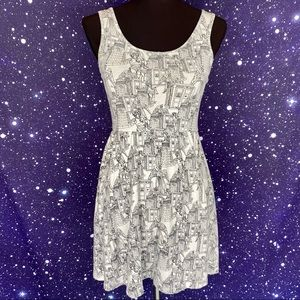 DOCTOR WHO BY HER UNIVERSE Print Fit & Flare Dress